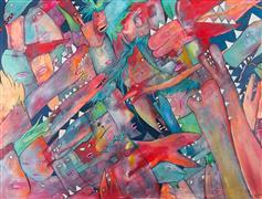 Fantasy art,Pop art,Representational art,Primitive art,mixed media artwork,Beats