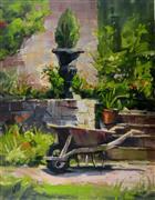 Impressionism art,Nature art,Representational art,oil painting,Paris Garden Decor