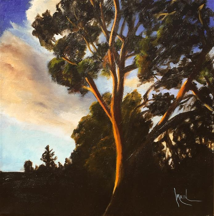 Discover Original Art by Mandy Main | Eucalyptus II oil painting | Art for Sale Online at UGallery