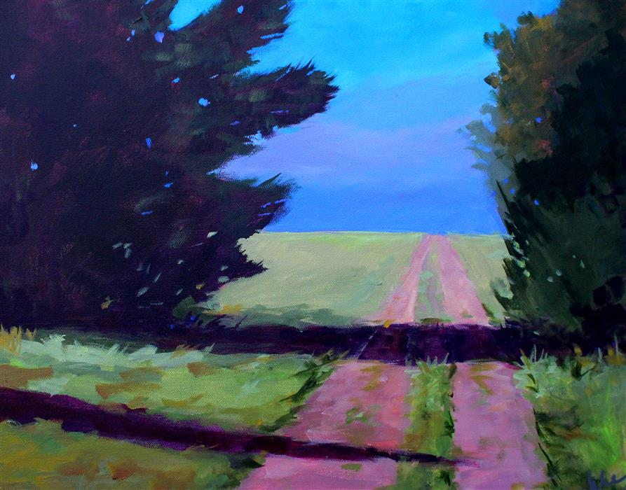 Discover Original Art by Nancy Merkle | Toward the Endless Prairie acrylic painting | Art for Sale Online at UGallery