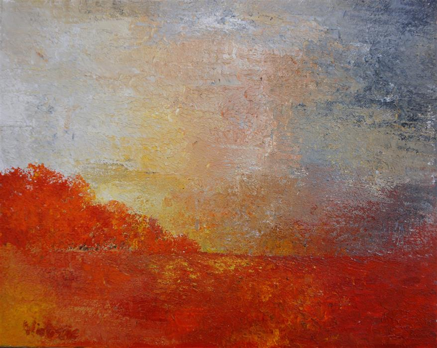 Original art for sale at UGallery.com | Awaken by WIETZIE GERBER | $550 | Acrylic painting | 16' h x 20' w | http://www.ugallery.com/acrylic-painting-awaken