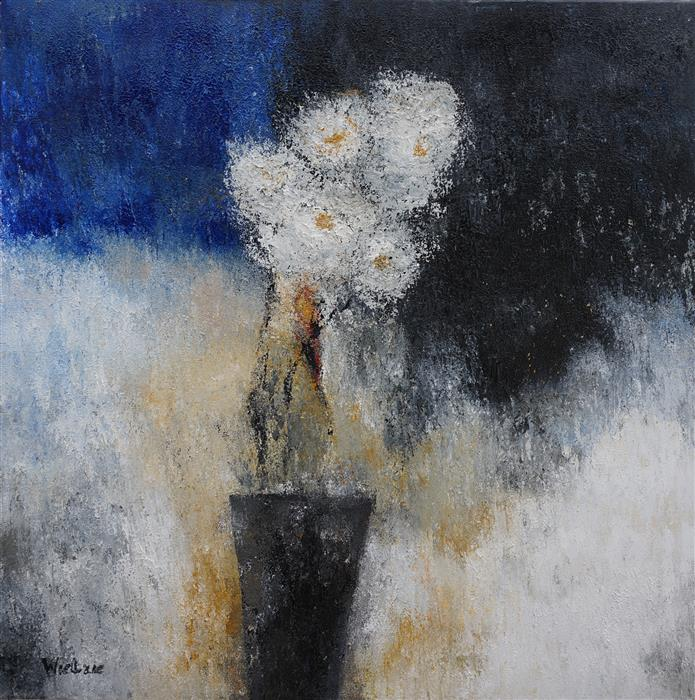 Discover Original Art by Wietzie Gerber | Serenity acrylic painting | Art for Sale Online at UGallery