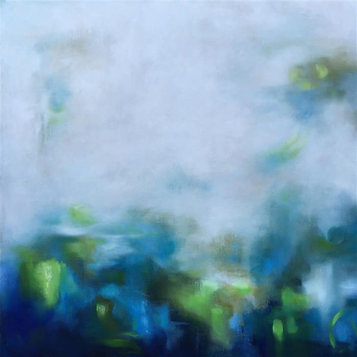 Discover Original Art by Faith Taylor | Breathe oil painting | Art for Sale Online at UGallery