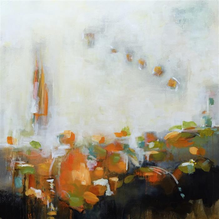 Original art for sale at UGallery.com | Parade by FAITH TAYLOR | $2,675 | Acrylic painting | 36' h x 36' w | http://www.ugallery.com/acrylic-painting-parade