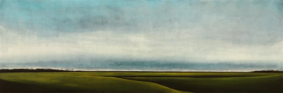 Discover Original Art by Mandy Main | Expanse III oil painting | Art for Sale Online at UGallery