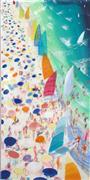 Pop art,Seascape art,Representational art,acrylic painting,Hobie Sails