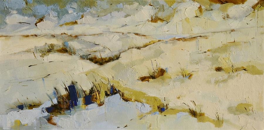 Discover Original Art by Kim McAninch | Dunes LVI oil painting | Art for Sale Online at UGallery