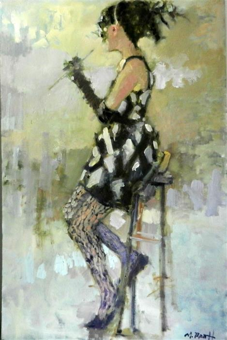 Discover Original Art by Mary Pratt | Harlequin oil painting | Art for Sale Online at UGallery