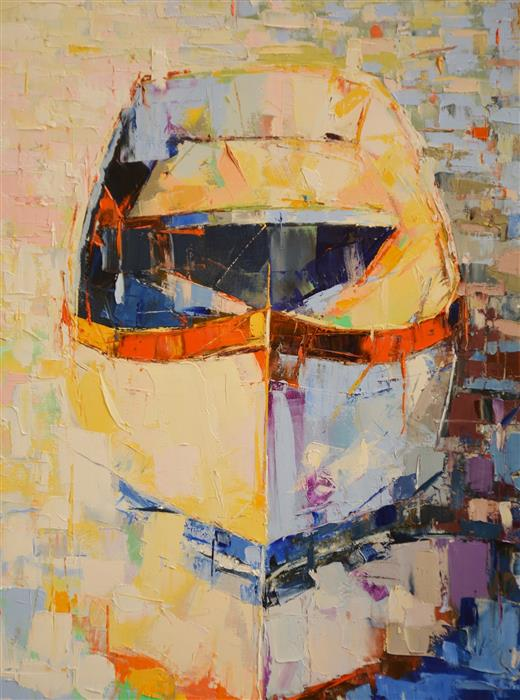 Discover Original Art by Kim McAninch | Boat/36 oil painting | Art for Sale Online at UGallery