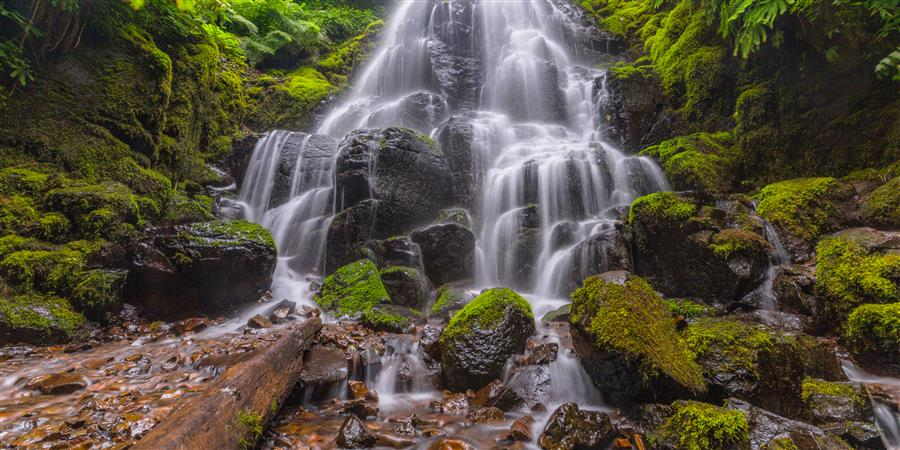 Original art for sale at UGallery.com | Fairy Falls by ROSS LIPSON | $245 |  | ' h x ' w | http://www.ugallery.com/photography-fairy-falls-46716