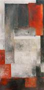 Abstract art,Non-representational art,Modern  art,acrylic painting,Searching for Peace