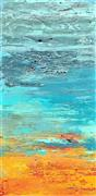 Abstract art,Seascape art,Non-representational art,mixed media artwork,Nature's Bounty