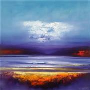 Expressionism art,Landscape art,Representational art,oil painting,Dusk