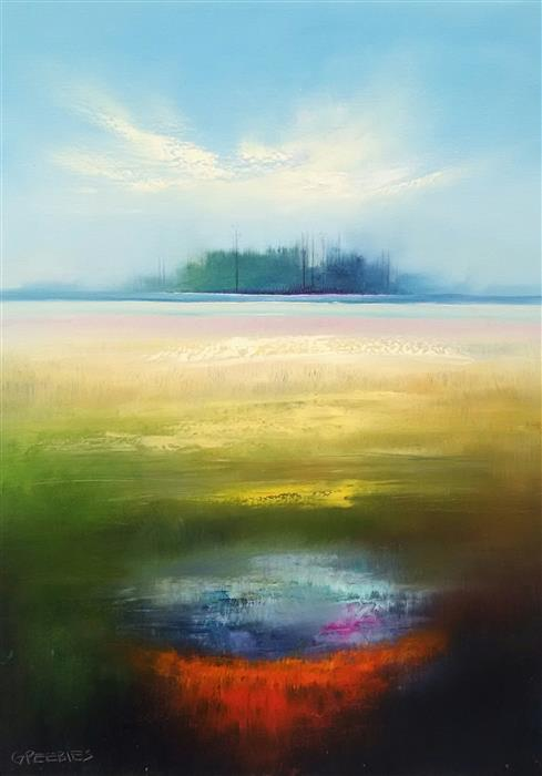 Discover Original Art by George Peebles | Summer Breeze  oil painting | Art for Sale Online at UGallery