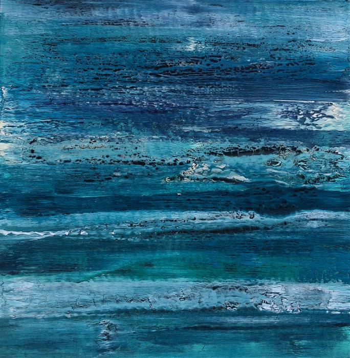 Discover Original Art by Alicia Dunn | Indigo Dream acrylic painting | Art for Sale Online at UGallery