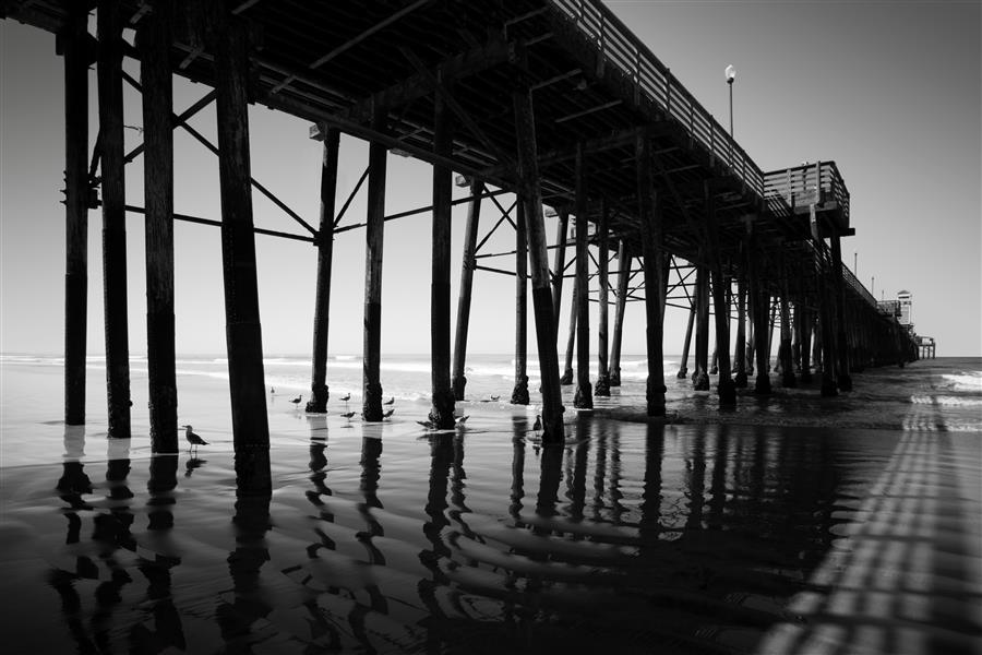Discover Original Art by Stephanie Sherman | The Echoed Pier photography | Art for Sale Online at UGallery