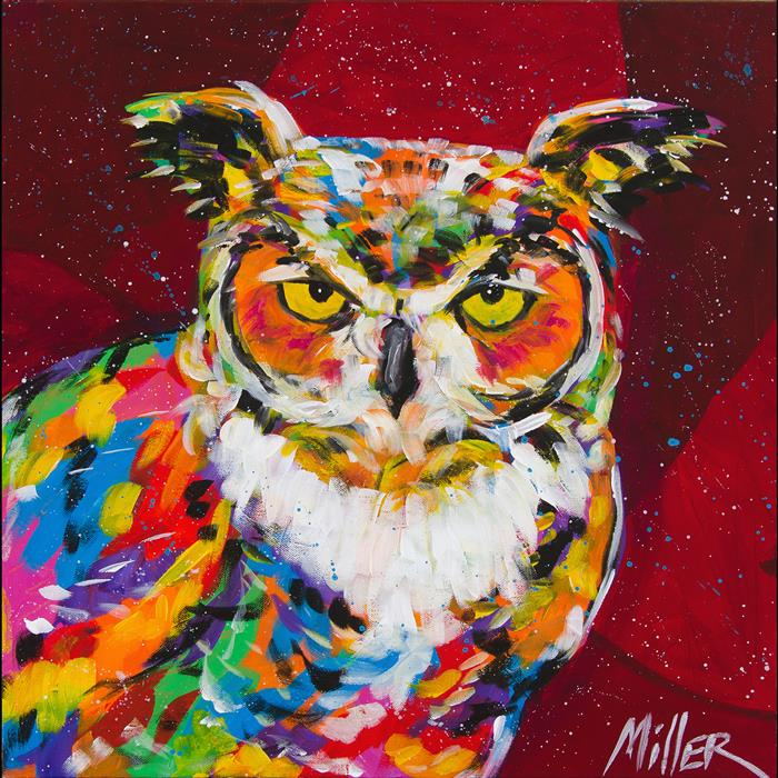 Discover Original Art by Tracy Miller | Wise One acrylic painting | Art for Sale Online at UGallery