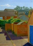 Architecture art,Impressionism art,Travel art,Representational art,oil painting,Isle of Wight