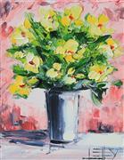 Still Life art,Flora art,Representational art,oil painting,Flight of Fancy