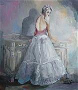 Impressionism art,People art,Representational art,Vintage art,acrylic painting,La Esmeralda