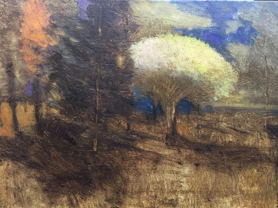 Discover Original Art by Scott  Heaton | Stark Fall oil painting | Art for Sale Online at UGallery