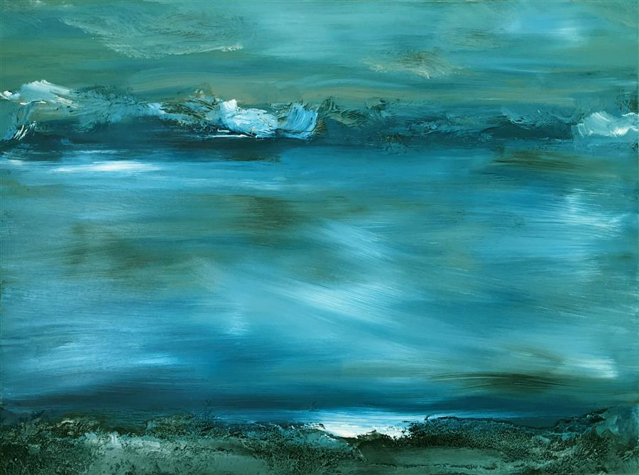 Discover Original Art by Michele Morata | Eternal II oil painting | Art for Sale Online at UGallery