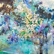 Abstract art,Expressionism art,Non-representational art,mixed media artwork,Nirvana