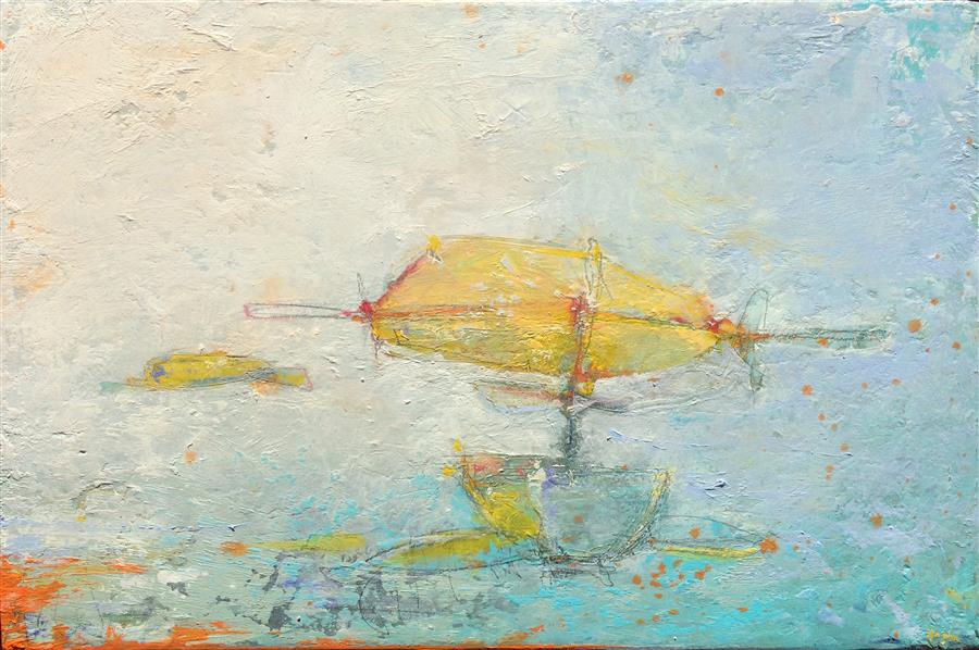 Discover Original Art by Joshua Hogan | Florida Key oil painting | Art for Sale Online at UGallery