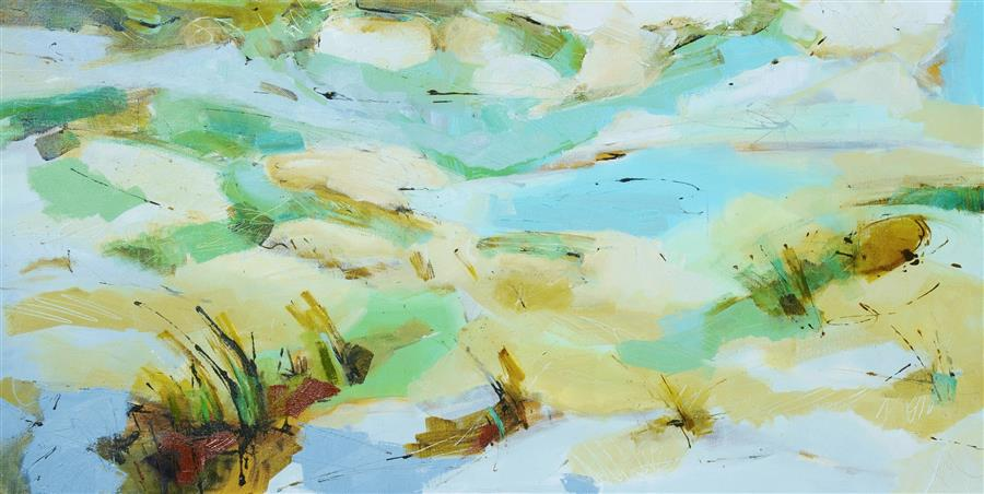 Discover Original Art by Kim McAninch | Dunes LVIII oil painting | Art for Sale Online at UGallery