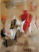 Abstract art,Non-representational art,Modern  art,acrylic painting,Mangata 36