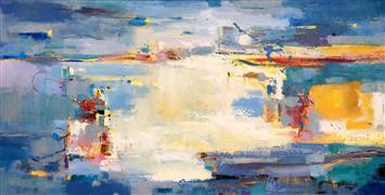 Abstract art,Non-representational art,Modern  art,oil painting,Emotion 7