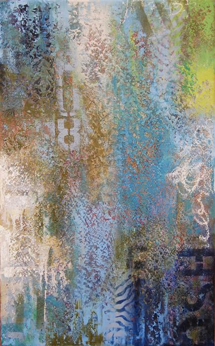 Discover Original Art by Janet Hamilton | HU8 mixed media artwork | Art for Sale Online at UGallery