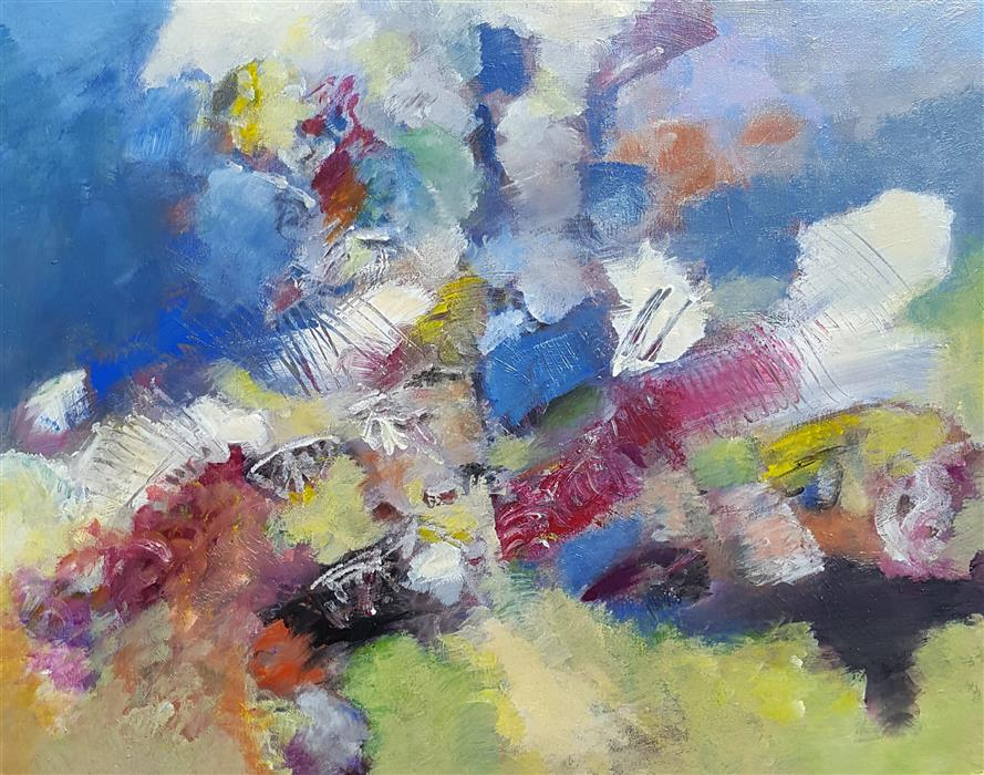 Discover Original Art by Robert Morrow | Terra Firma acrylic painting | Art for Sale Online at UGallery