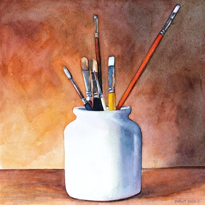 Discover Original Art by Dwight Smith | Tools watercolor painting | Art for Sale Online at UGallery