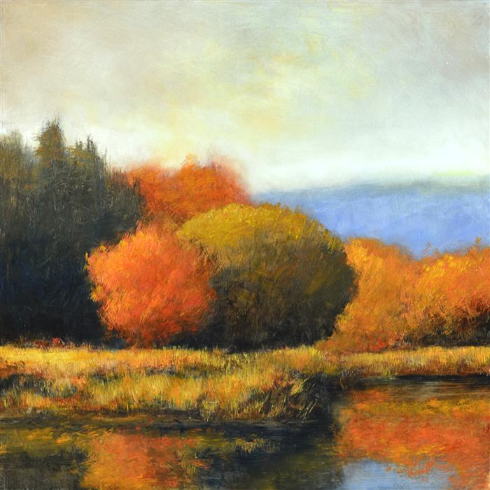 Discover Original Art by Don Bishop | Autumn Color oil painting | Art for Sale Online at UGallery