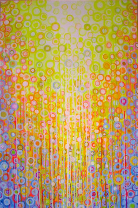 Discover Original Art by Natasha Tayles | Sun over Matter acrylic painting | Art for Sale Online at UGallery
