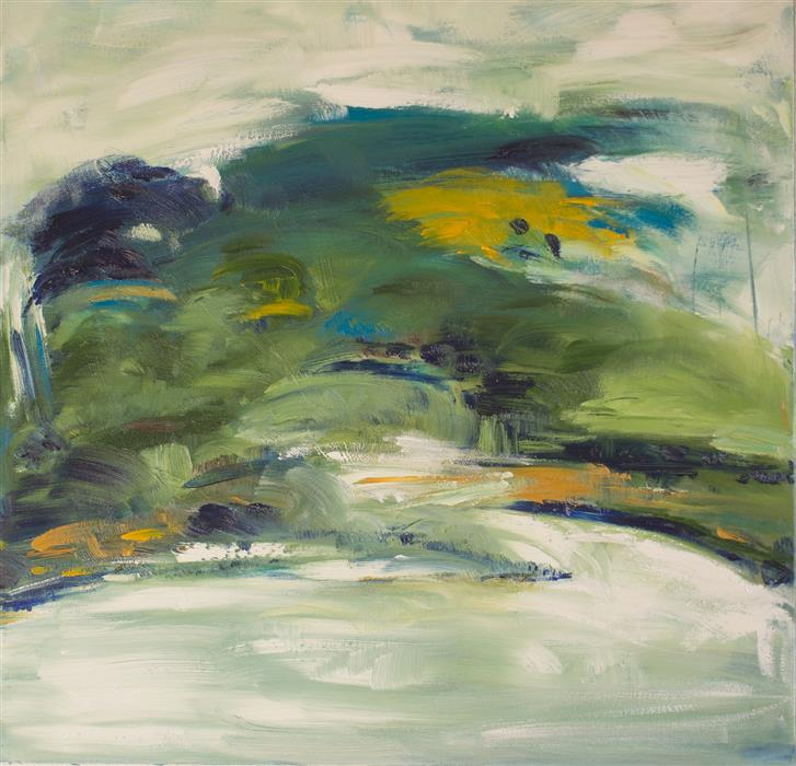 Discover Original Art by Kajal Zaveri | After the Rains oil painting | Art for Sale Online at UGallery