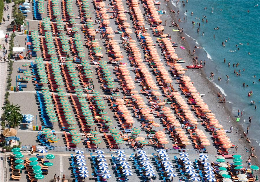 Discover Original Art by Rebecca Plotnick   Umbrella Dreaming in Positano photography   Art for Sale Online at UGallery