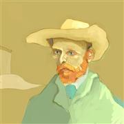 People art,Pop art,Representational art,digital printmaking,Vincent