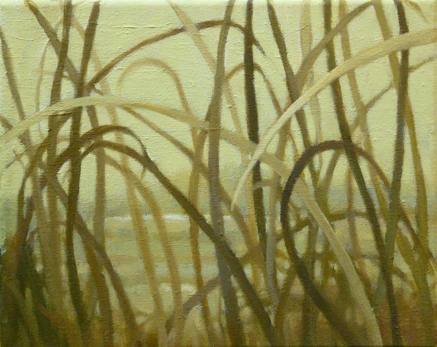 Discover Original Art by Nanci Erskine   Grasslands #16 oil painting   Art for Sale Online at UGallery