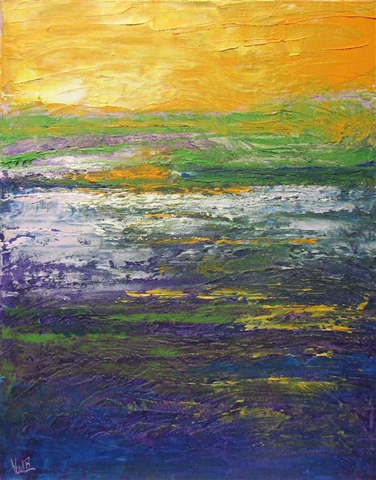 Discover Original Art by Valerie Berkely   Silent Sunlight oil painting   Art for Sale Online at UGallery