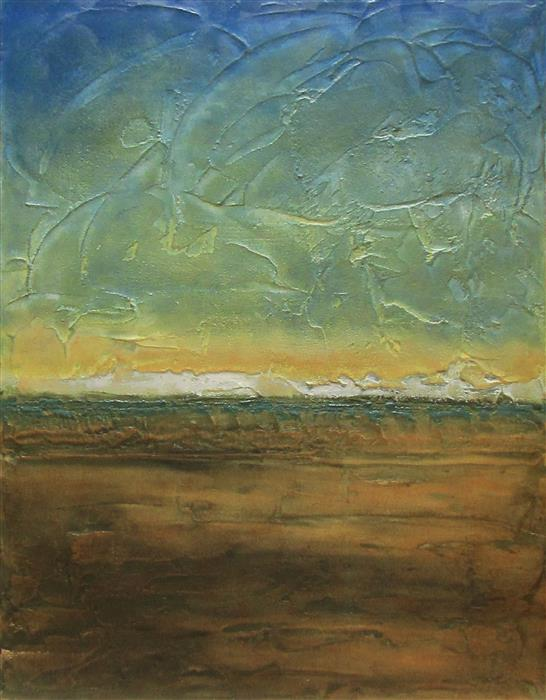 Discover Original Art by Valerie Berkely   My Blue Heaven oil painting   Art for Sale Online at UGallery