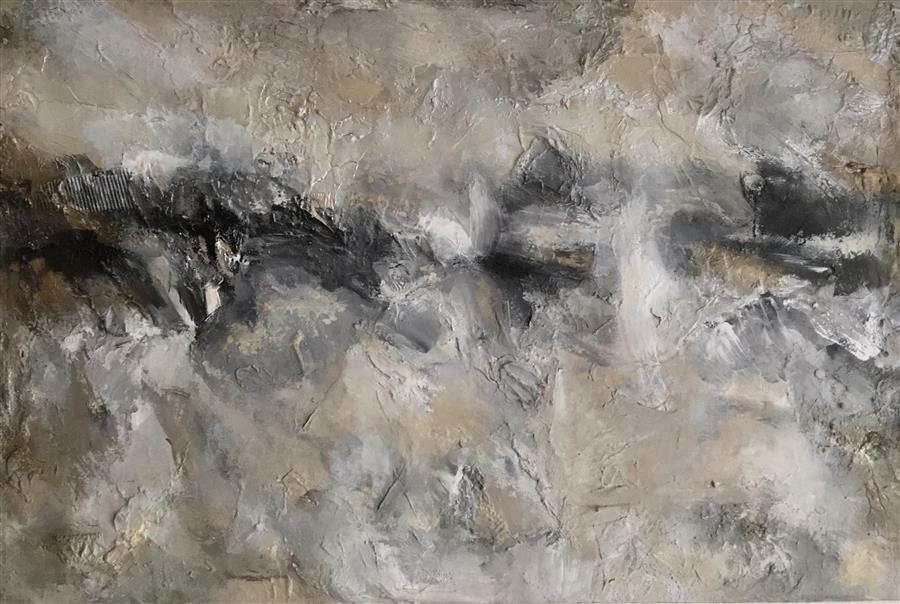 Discover Original Art by Michele Morata | Duality III mixed media artwork | Art for Sale Online at UGallery