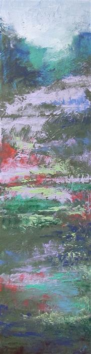 Discover Original Art by Valerie Berkely   Spillway oil painting   Art for Sale Online at UGallery