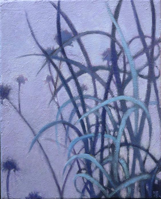 Discover Original Art by Nanci Erskine   Grasslands #17 oil painting   Art for Sale Online at UGallery