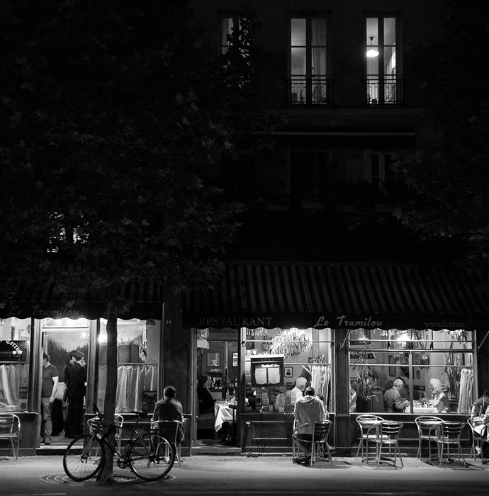 Discover Original Art by Carina Okula | Paris by Night #5 photography | Art for Sale Online at UGallery