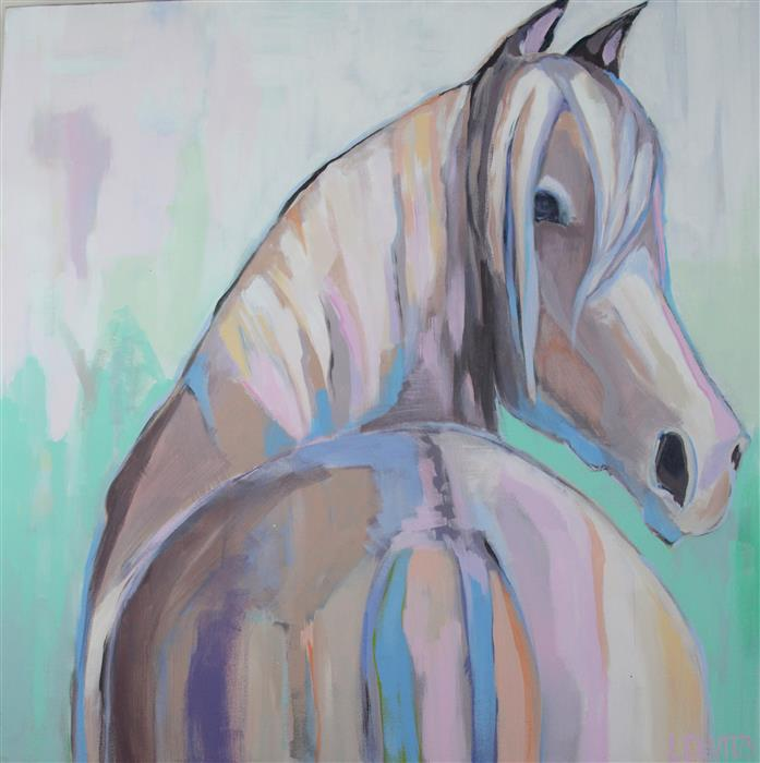 Discover Original Art by Lesli DeVito | Sweet Sophia acrylic painting | Art for Sale Online at UGallery