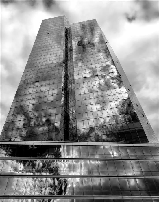 Discover Original Art by Robert Ullmann | Clouds Sky and High Rise photography | Art for Sale Online at UGallery
