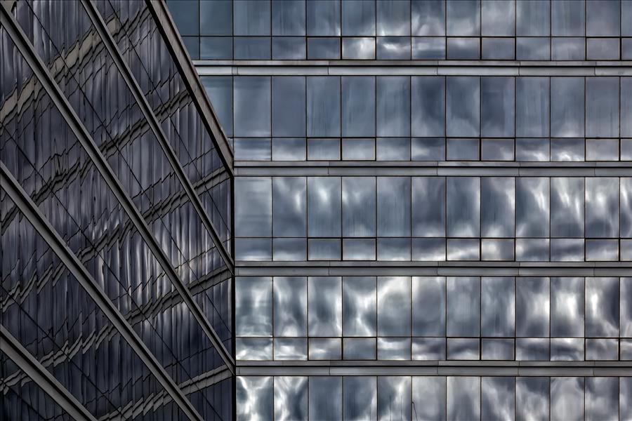 Discover Original Art by Robert Ullmann | Clouds and Glass photography | Art for Sale Online at UGallery