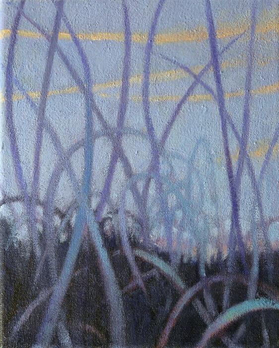 Discover Original Art by Nanci Erskine   Grasslands #12 oil painting   Art for Sale Online at UGallery